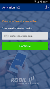 Kobil Trusted Message Sign- screenshot thumbnail