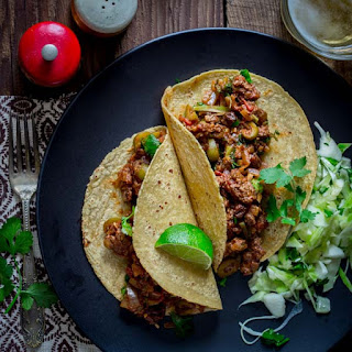 Picadillo With Olives And Raisins.
