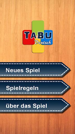 Tabu Deutsch