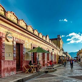 San Cristobal de las Casas  by Andrius La Rotta Esquivel - City,  Street & Park  Street Scenes ( colorful, mexico, views, photographer, street photo, san cristobal de las casas, city street, travel photography, photography )