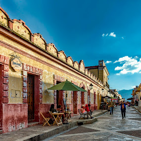 San Cristobal de las Casas  by Andrius La Rotta Esquivel - City,  Street & Park  Street Scenes ( colorful, mexico, views, photographer, street photo, san cristobal de las casas, city street, travel photography, photography )