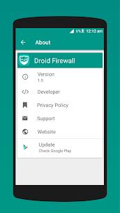 Droid Firewall v1.3 [Pro] APK 3