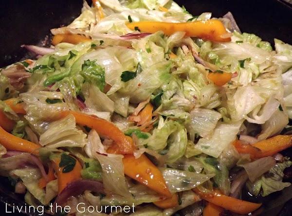 Warm Sautéed Lettuce Salad Recipe