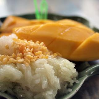 Thai Mango Sticky Rice Dessert, Best Ever! (Khao Niaow Ma Muang).