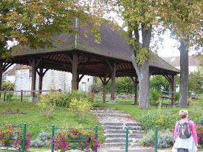 Photo: halle à La Chapelle Iger