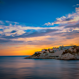 Bellevue by Branko Meic-Sidic - Landscapes Waterscapes ( croatia, bellevue, hdr, dramatic, colourfull, dubrovnik, meicsidic, sea )