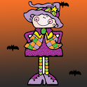 Kids Coloring Halloween icon