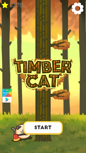 Timber Cat!  captures d'u00e9cran 1