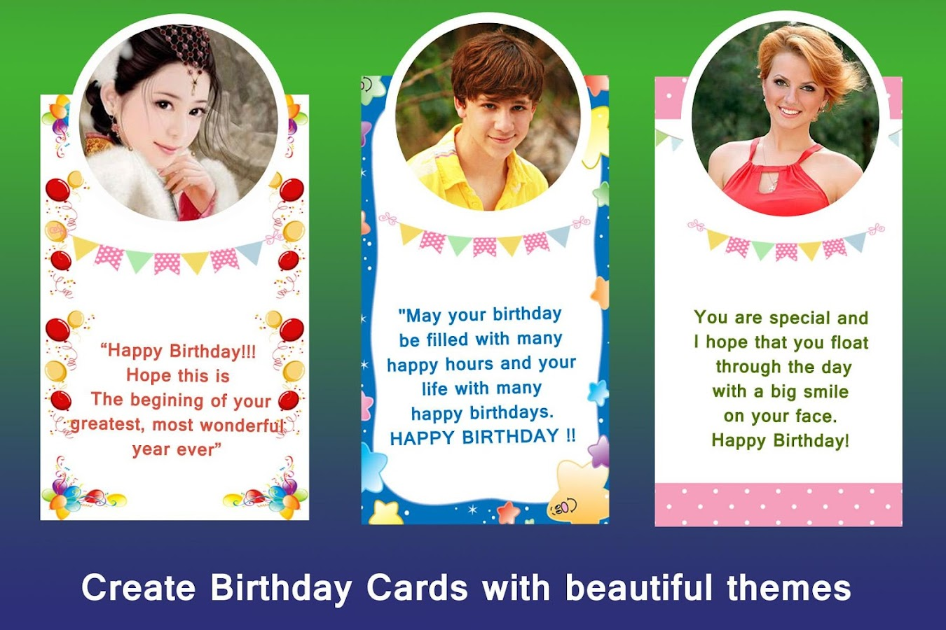 Birthday Cards- screenshot