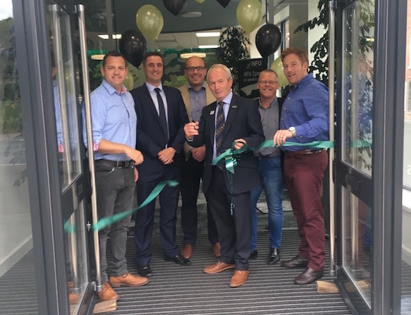 President opens new NFU Office