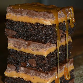Twix Brownies.