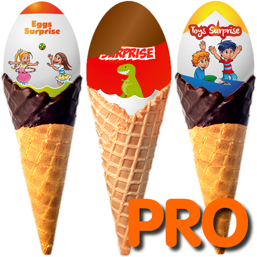Ice Cream Surprise Eggs Pro