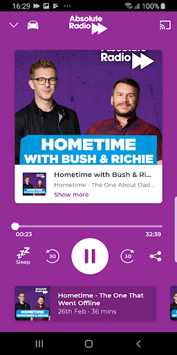 Absolute Radio screenshot 2