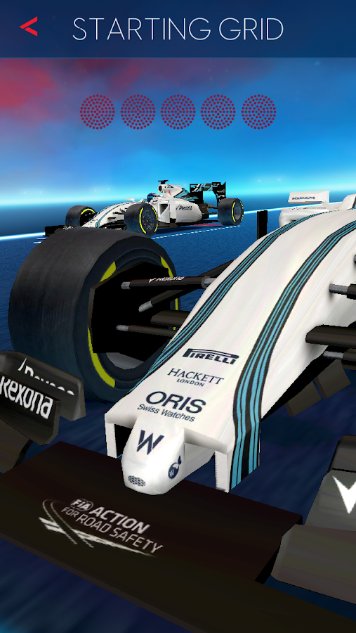 ORIS Reaction Race- screenshot