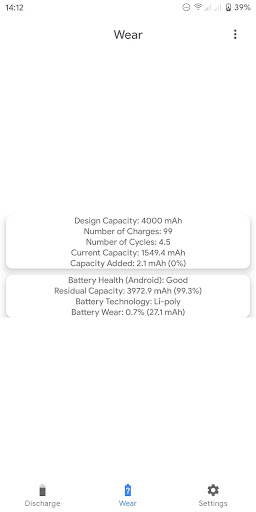 Capacity Info screenshot 3