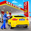 Gas Station Car Driving Simulator Car Parking Game