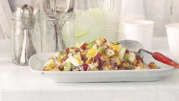 Potato Salad With Country Ranch Dressing Recipe