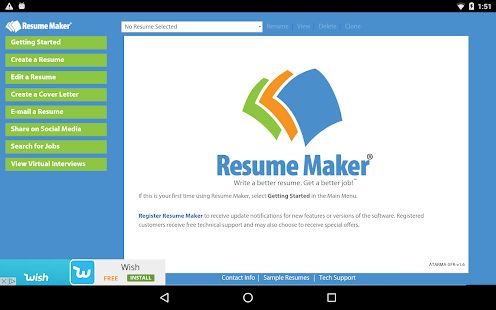 resume maker 174 free android apps on play