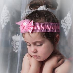 Little ballerina by Belinda O'Connor - Babies & Children Child Portraits ( thoughts, ballerina )