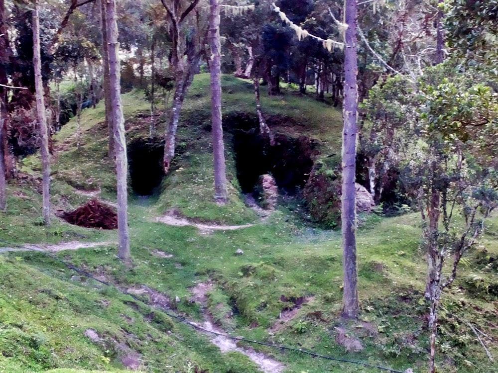 As cavernas dos bugres