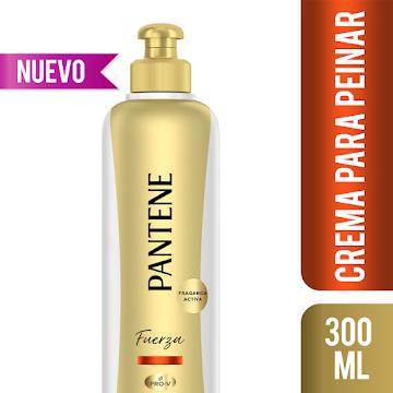CREMA PARA PEINAR   PANTENE FUERZA Y RECONSTRUCCIÓN X 300ML