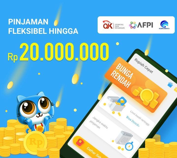 Rupiah Cepat Pinjaman Uang Tunai Kredit Dana Cash Android