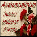 Jumma Mubarak: Greeting, Photo Frames, GIF, Quotes icon