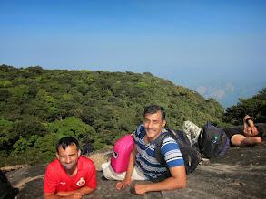 Photo: Rest after a steep climb