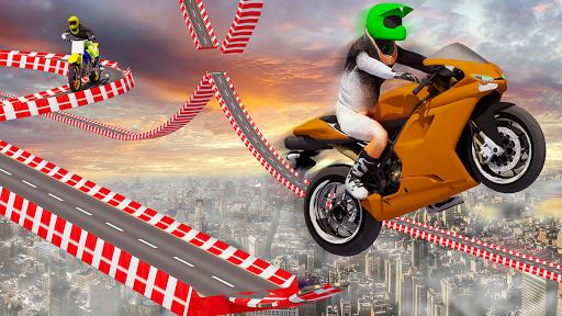 Stunt Bike Impossible Tracks-Race Moto Drive Game image | 6