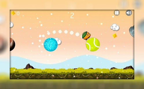 Ovocná Space Jumper - náhled