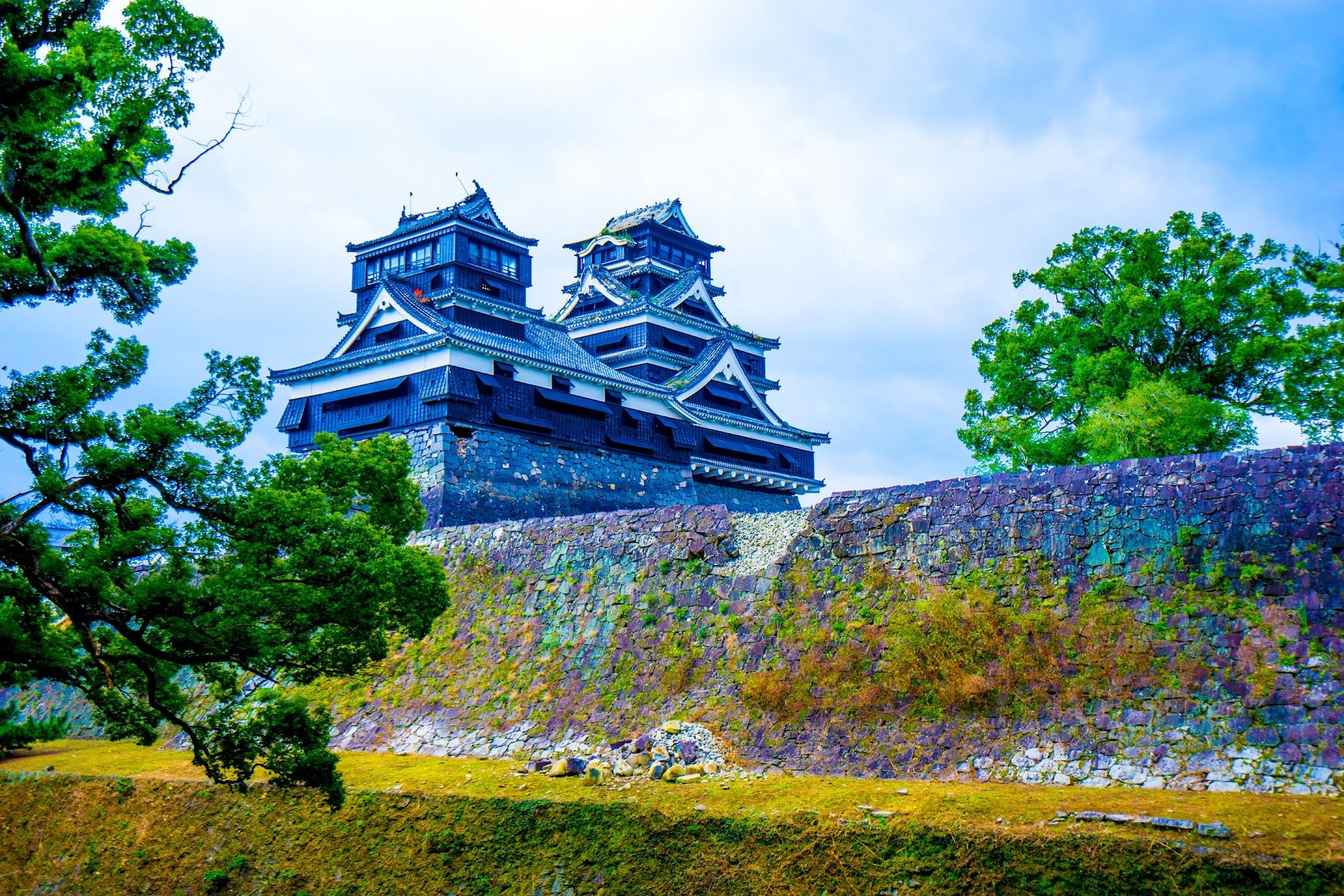 熊本城 加藤神社 天守閣1