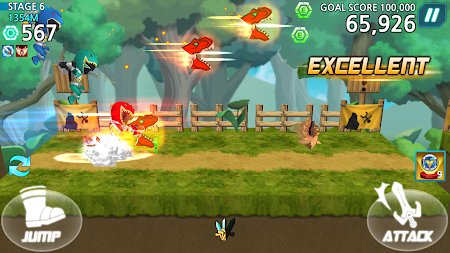 Power Rangers Dash (Asia) 1.5.2 screenshot 237179