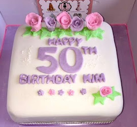 50th female cake