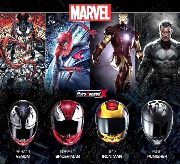 Marwell Hjc Helmets