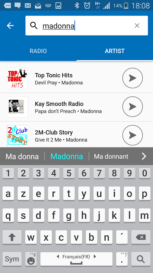 Radionomy- screenshot