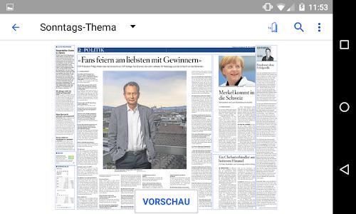 Schweiz am Sonntag - E-Paper screenshot 2