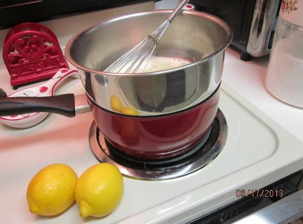 Cook; stirring constantly (to prevent it from curdling) until the mixture becomes thick. ...