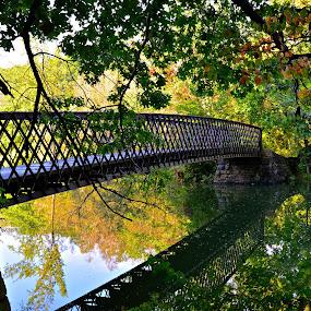 Footbridge Over the Q by Carl Testo - Buildings & Architecture Bridges & Suspended Structures