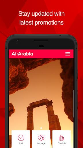 Air Arabia (official app) 4.1.8 screenshots 1
