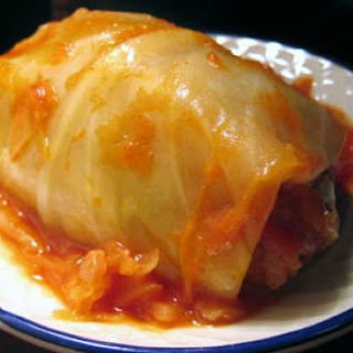 Low Carb Crock Pot Cabbage Rolls.