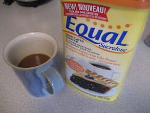 Photo: Ahhh....I sure do love my coffee and now I can add a treat to it without feeling guilty.