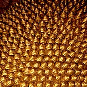 Crown of Reclining Buddha by Kaniz Khan - Artistic Objects Jewelry (  )