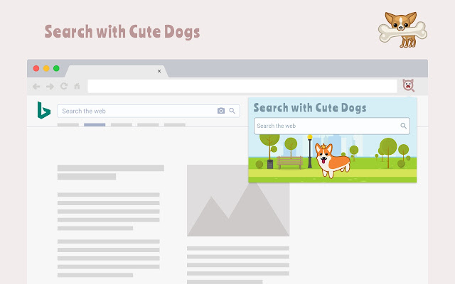 Search with Cute Dogs