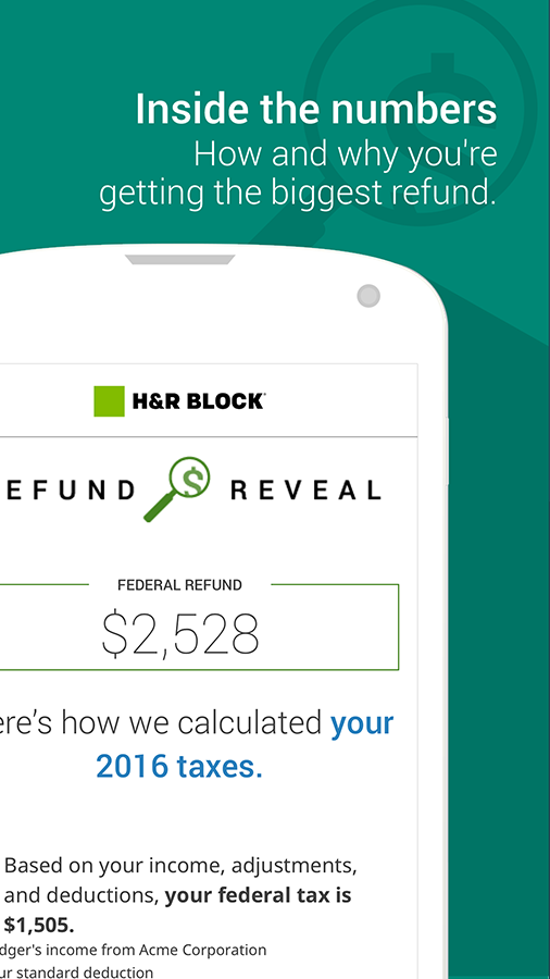 H&R Block Tax Prep and File- screenshot