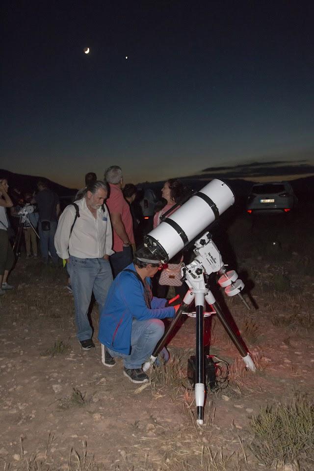 Observación astronómica de Orión.