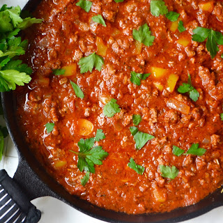 Weeknight Meat Sauce.