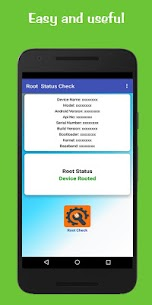 Root Status Check 2