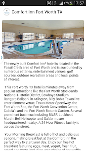 Comfort Inn Fort Worth TX- screenshot thumbnail