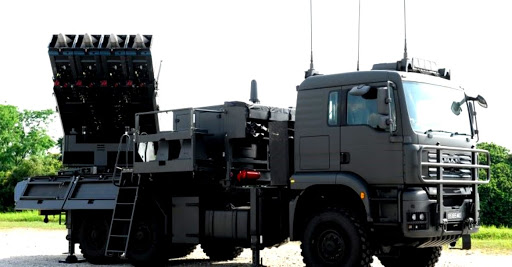 Philipines' Spyder Surface-to-Air Missile System from Israel