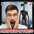 Siren Head Camera Photo Editor